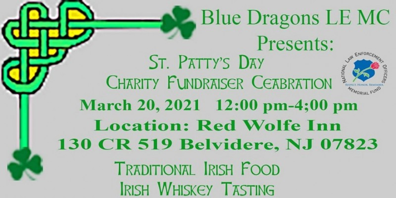 Blue Dragons LE MC  Annual Charity  St. Patty's Day Ride and Celebration ,Belvidere