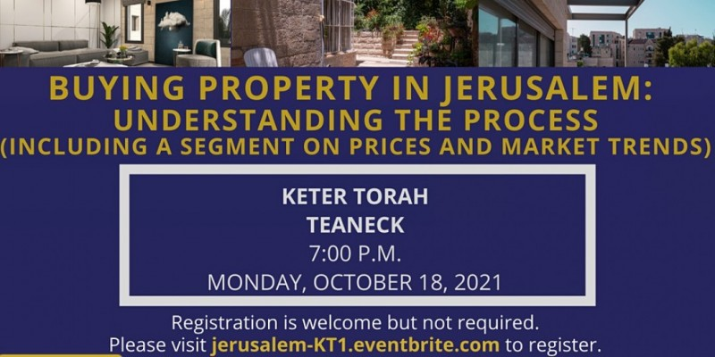 Buying Property in Jerusalem: Understanding the Process ,Teaneck