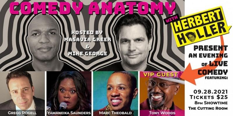 Comedy Anatomy & Herbert Holler Present: Comedy w/ a DJ | The Cutting Room ,New York