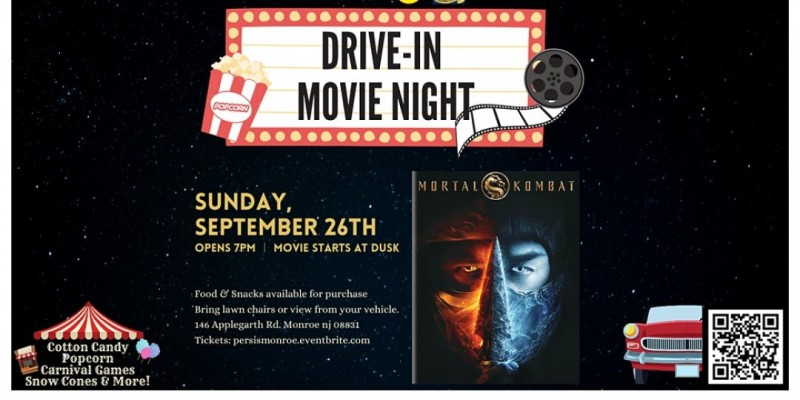 Drive In Movie Night ft. Mortal Kombat ,Monroe
