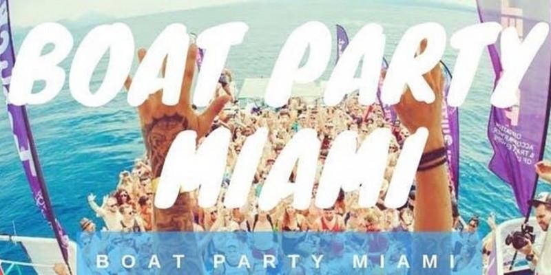 EPIC MIAMI BOAT PARTY ! ,Miami