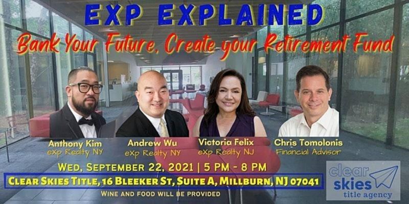 EXP Explained & Your Retirement ,Millburn