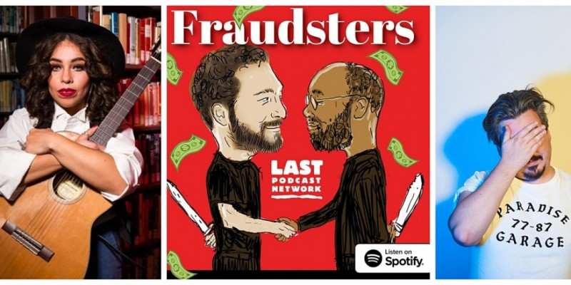 Fraudsters Podcast Recording and Halloween Party ,Newark