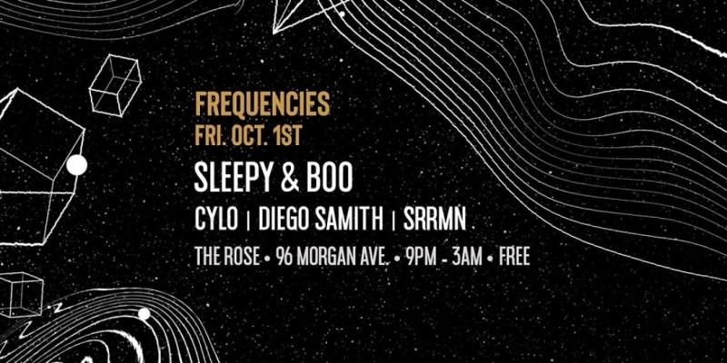 Frequencies - Sleepy & Boo, Cylo, Diego Samith, SRRMN ,Brooklyn