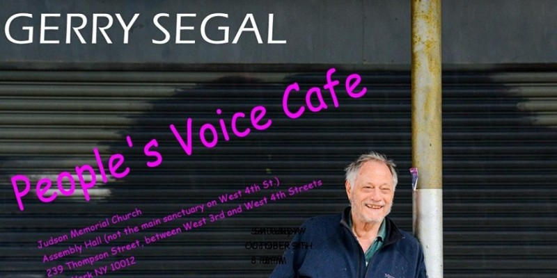 Gerry Segal @ The Peoples' Voice Cafe ,New York