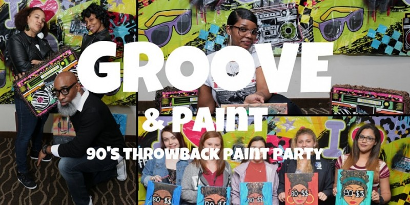 GROOVE and PAINT ATLANTA: Costume Party Edition ,Atlanta