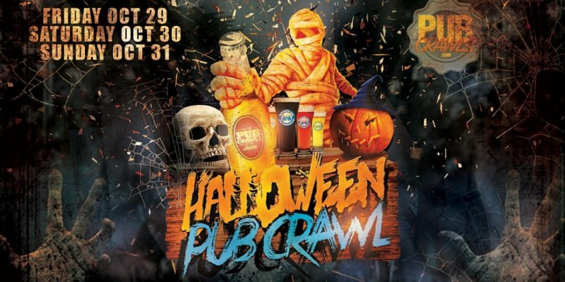 HalloWeekend Pub Crawl Grove Square Jersey City ,Jersey City