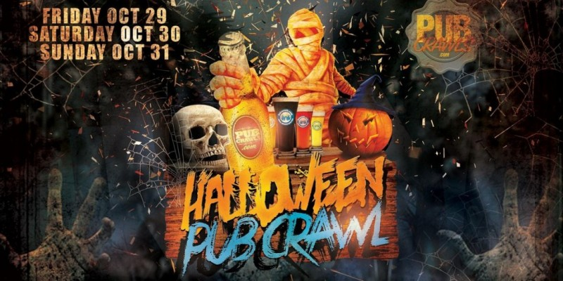 Halloweekend Pub Crawl New York City