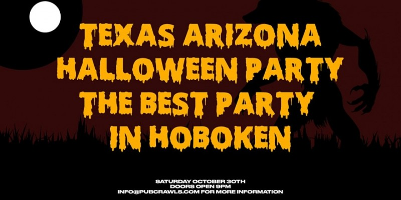 Halloween Party At Texas Arizona ,Hoboken