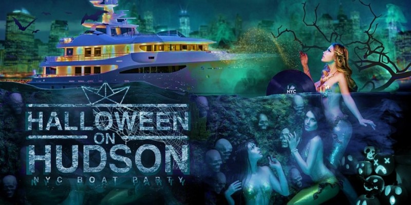 Halloween Party Cruise NYC: Spooky Friday on the Hudson ,New York