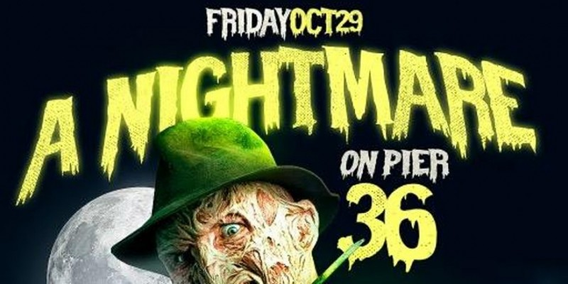 Halloween Yacht Party Nightmare on Pier 36 ,New York