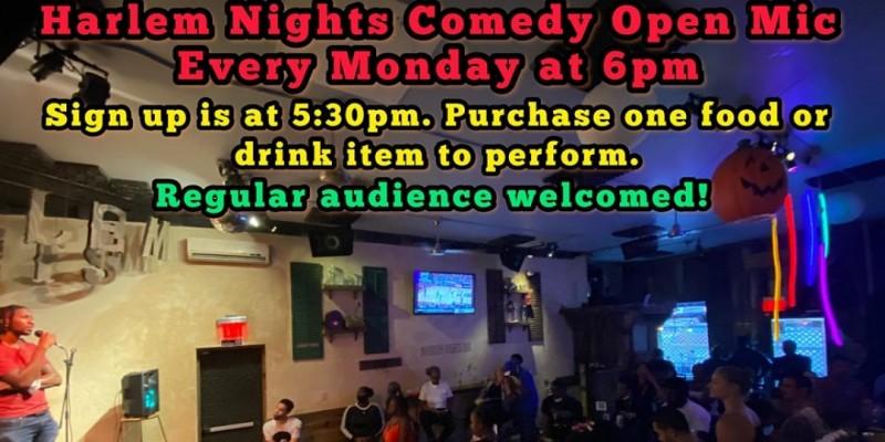 Harlem Nights Comedy Open Mic Show ,New York