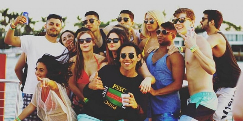Hip Hop Boat Party  in Miami Beach ,Miami