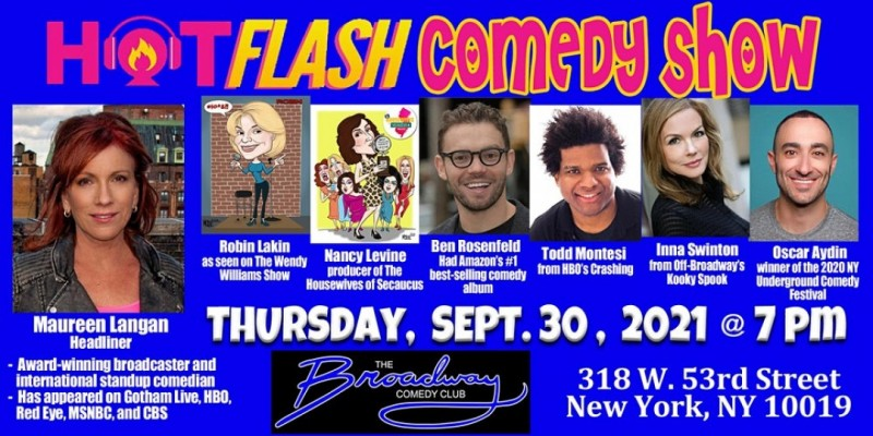 Hotflash Comedy Show ,New York