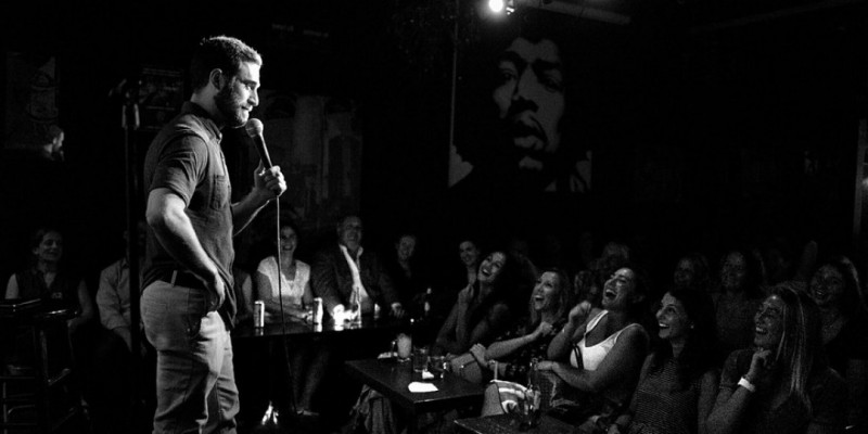 Late Night At The Comedy Shop ,New York