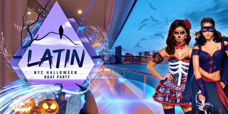 Latin Halloween Party Cruise NYC: Spooky Friday on the Hudson ,New York