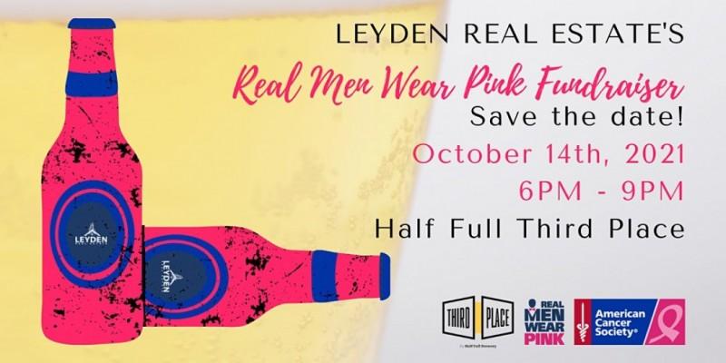 Leyden Real Estate's Real Men Wear Pink Fundraiser ,Stamford