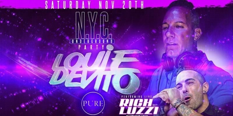 Louie DeVito's N.Y.C. Underground Party feat. Rich Luzzi ,South Amboy