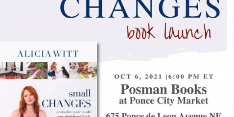 Meet Alicia Witt - Actress/Musician/Author of Small Changes on 10/06/21! , Atlanta