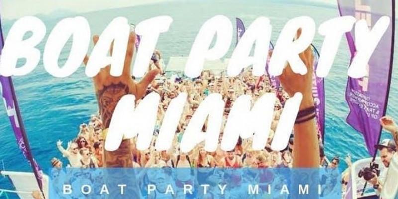 Miami Booze Cruise Party Boat+ Unlimited Drinks ,Miami