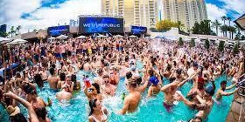 Miami Craziest Halloween Pool Party ,Miami Beach