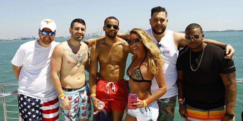 Miami's Craziest Boat Party ,Miami