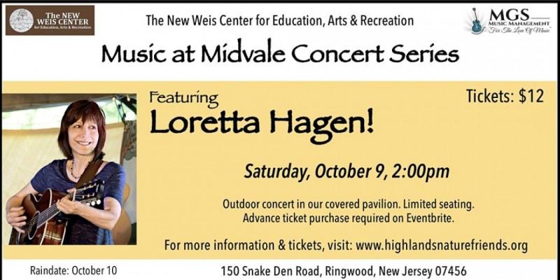 Music at Midvale presents: Loretta Hagen! ,Ringwood