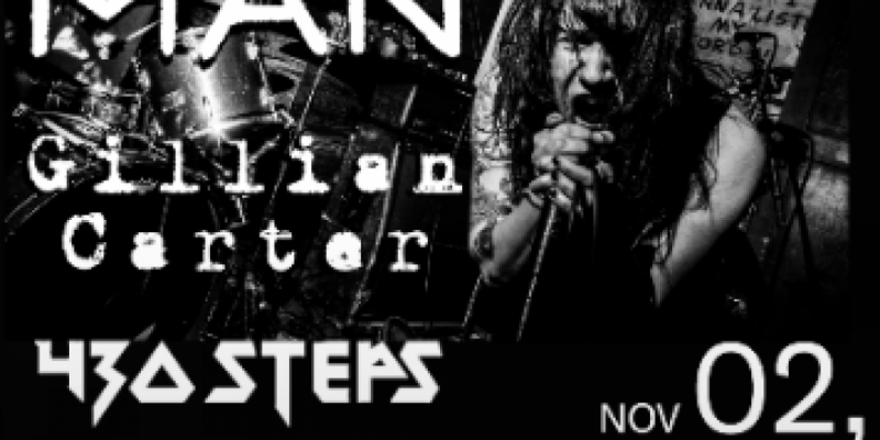 NO MAN (ex Majority Rule) and Gillian Carter with Special Guests 430 Steps and Kaupe ,Orlando