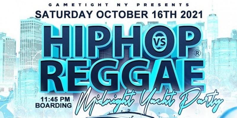 NYC Hip Hop vs Reggae® Midnight Saturday Cruise Skyport Marina Jewel ,New York
