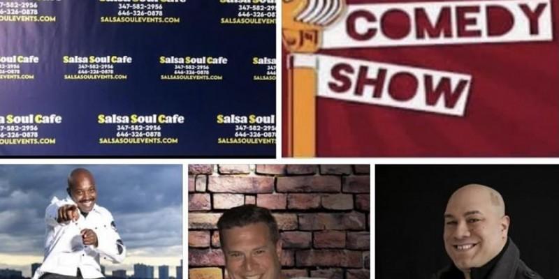 Salsa Soul Cafe Stand up Comedy ,Bronx