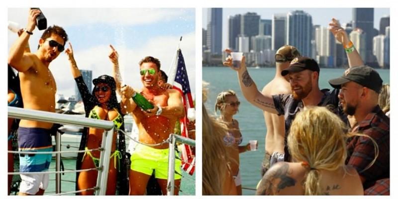 #SAVAGE BOAT MIAMI PARTY BOAT ,Miami