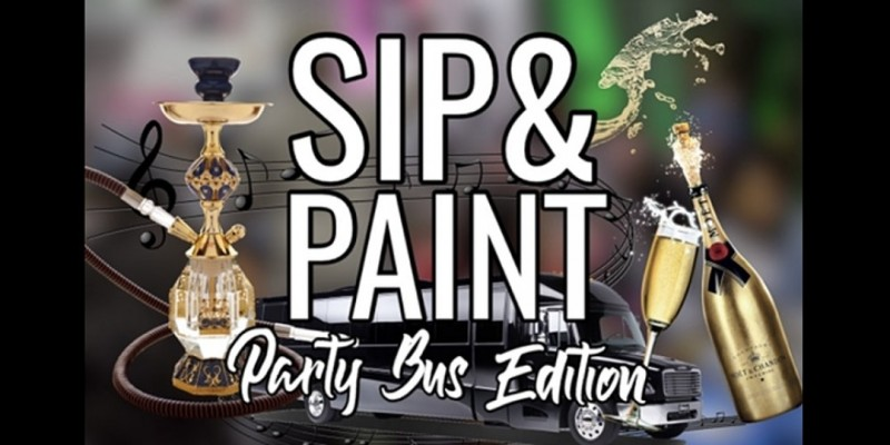 SIP & PAINT: Party Bus Edition ,Wilmington