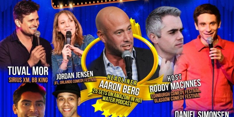 """Stand Up Comedy Show- """"Best Of Comedy"""" at Broadway Comedy Club - October 1"""