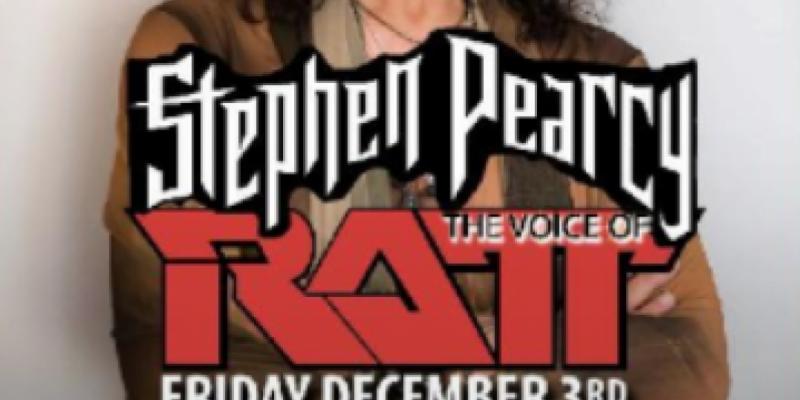 STEPHEN PEARCY the voice of RATT ,Buffalo
