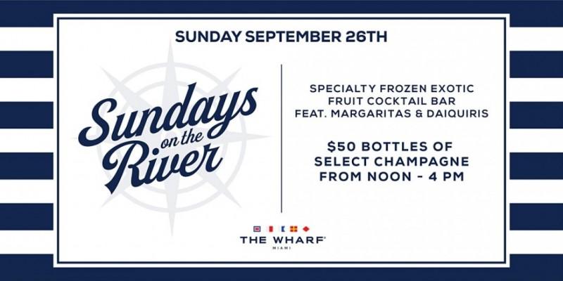 Sundays On The River at The Wharf Miami! ,Miami