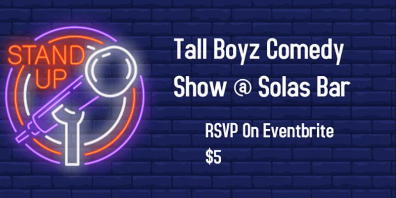 Tall Boyz Comedy Show ,New York