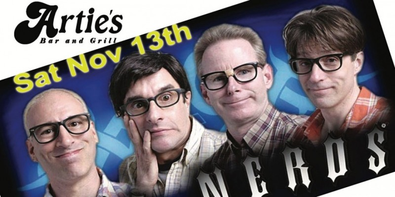 the infamous NERDS return to ARTIES in Frenchtown with guests Shottgun red. ,Frenchtown