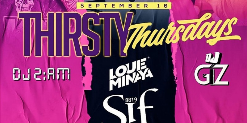 Thursty Thursdays At Sif Lounge ,Queens