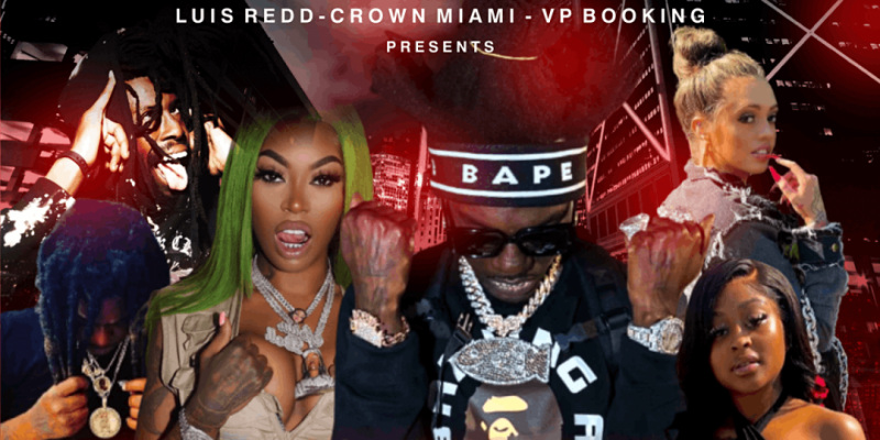 Trap Invasion Concert w/ Bobby Fishscale, Asian Doll, $hyfromdaTre and more ,Miami