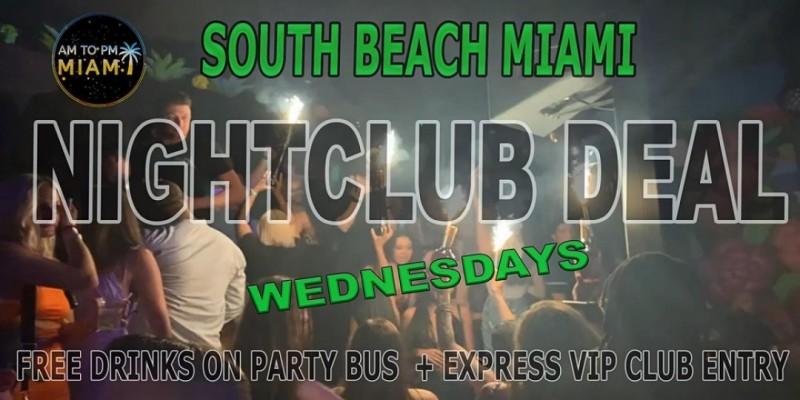 Wednesday Nightclub Deal In Miami ,Miami Beach