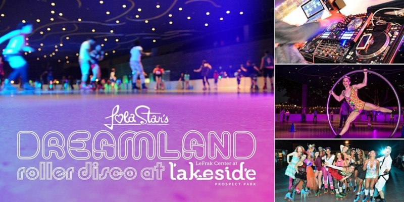 Zombie Disco at Dreamland Roller Disco at Lakeside ,Brooklyn
