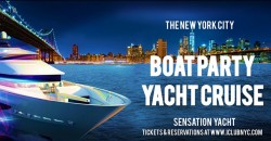 #1 BOAT PARTY YACHT CRUISE  NYC  Music & Cocktail Oct 2nd ,New York