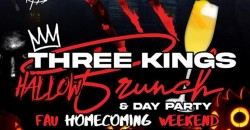 3Kings Hallowbrunch & Day Party ,Hallandale Beach