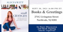 """Alicia Witt """"Small Changes"""" Book Launch ,Northvale"""