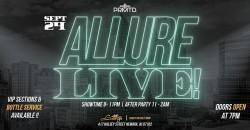 Allure Live! ,Newark