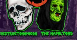 American Party Machine, Destructonomicon, The Hamiltons - Halloween Costume Party Throwdown! , Orlando