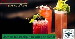 Atlanta Seminole Club Duckpin Bowling Social ,Atlanta