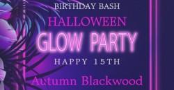 Autumn's B-day Bash Halloween Glow Party ,Miami
