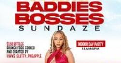BADDIES. BOSSES. BRUNCH: $150 bottles -BBB SUNDAZE: BRUNCH + DAY PARTY @ 02 ,Houston