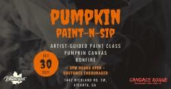 BLKTOBERFEST: Pumpkin Paint-n-Sip ,Atlanta